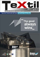 Tekstil Dünyası Dergi Kapağı